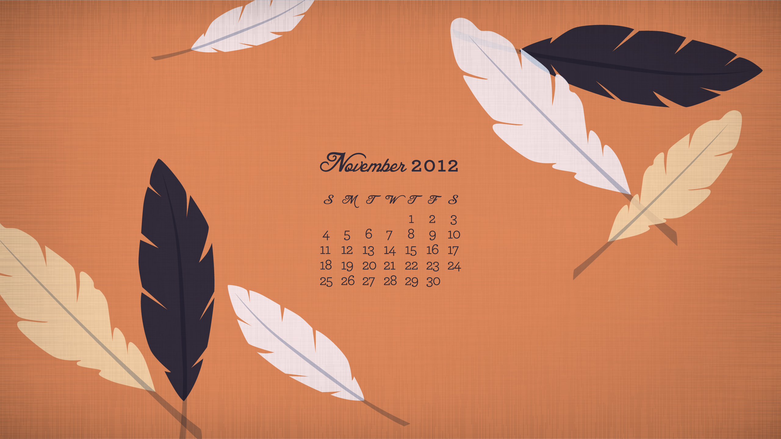 November Calendar Printables : Sarah hearts november calendar wallpaper