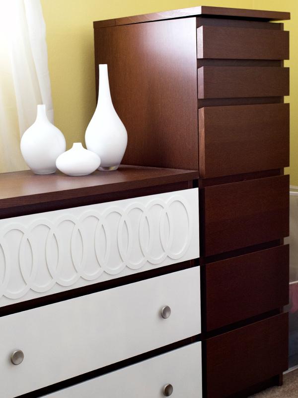malm 6 drawer dresser hack. Black Bedroom Furniture Sets. Home Design Ideas
