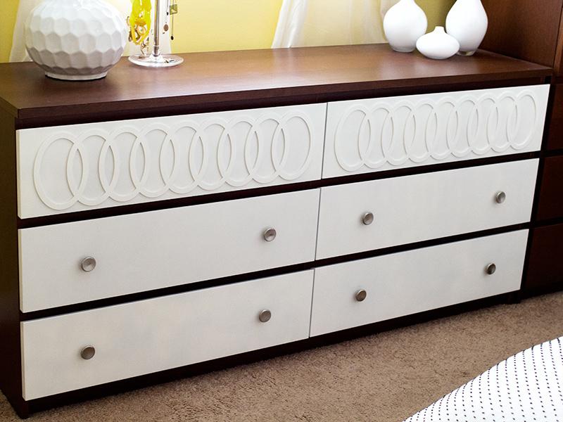 sarah hearts diy ikea malm mid century modern dresser. Black Bedroom Furniture Sets. Home Design Ideas