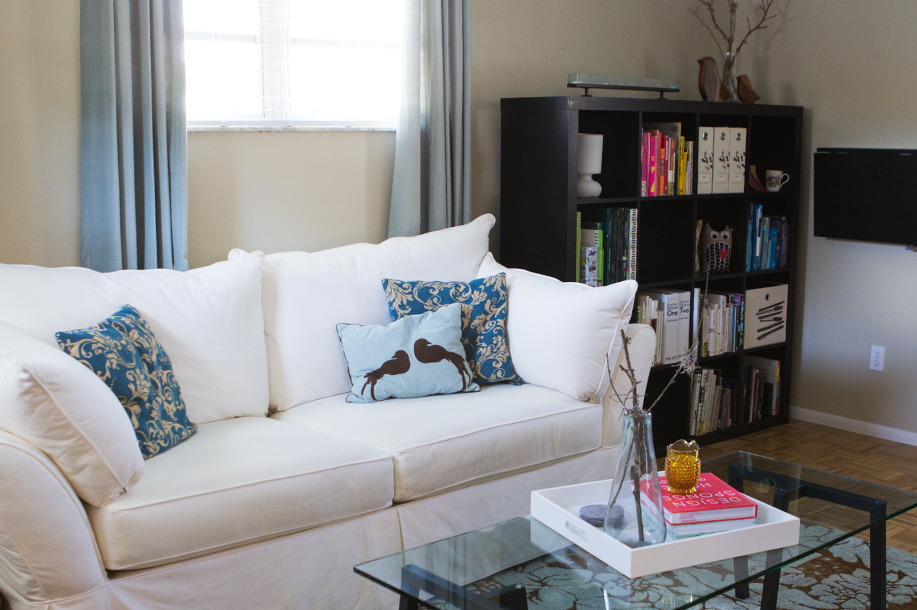 House Tour: Our Eclectic Den