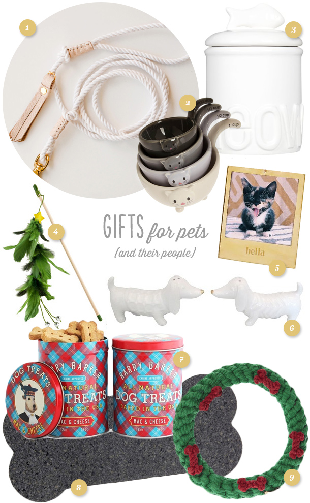 Here's the perfect gift guide for dog and cats and their people!